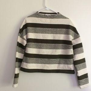 Erin + Ali Saborie striped sweatshirt